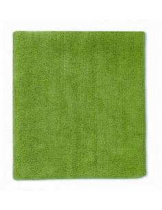 Laveta microfibra extra, 38 cm x 40 cm, verde, ambalata