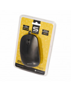 Mouse Serioux cu fir optic Noblesse 9800M 1000dpi negru