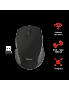 Mouse fara fir Trust Oni Micro Wireless Mouse - black