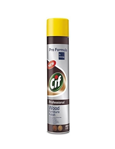 Spray Cif Wood Furniture Polish, 400 ml