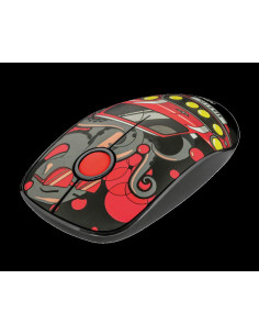 Mouse fara fir Trust Sketch Silent Click Wireless Mouse - red