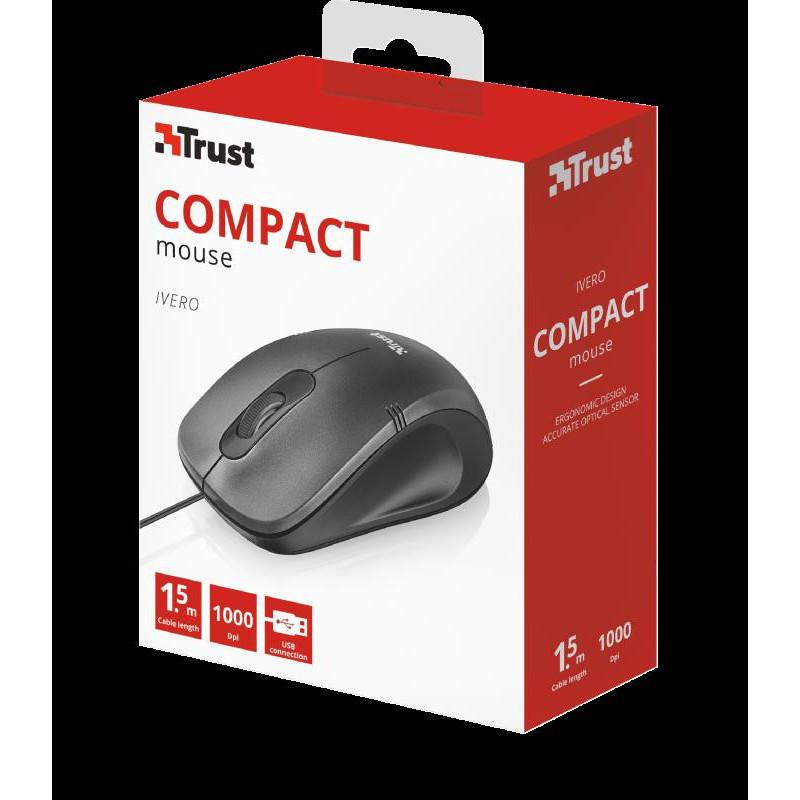 Mouse cu fir Trust Ivero Compact Mouse