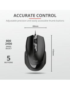 Mouse cu fir Trust Voca Comfort Mouse