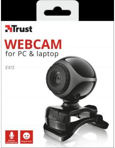 Camera WEB Trust Exis Webcam - black/silver