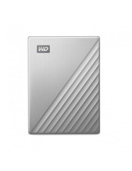 HDD Extern WD My Passport Ultra 4TB 2.5 USB 3.0 Argintiu