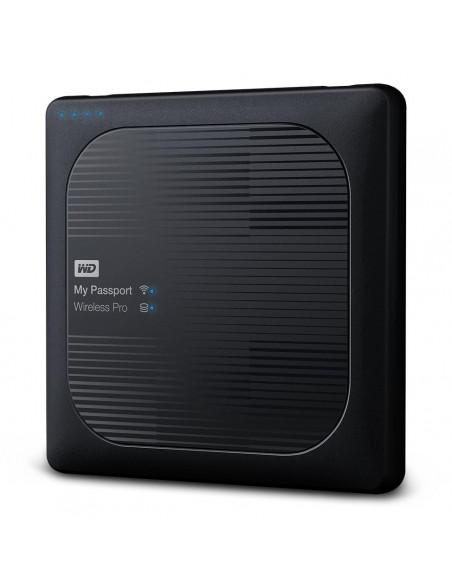 HDD extern WD My Passport Wireless PRO 3TB 2.5 USB 3.0 Negru