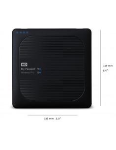 HDD extern WD My Passport Wireless PRO 4TB 2.5 USB 3.0 Negru