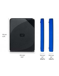 HDD extern WD Gaming drive PS4 4TB 2.5 USB 3.0 Negru