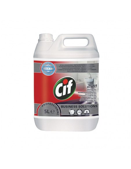 Detergent baie 2 in 1 Cif Professional, 5 L