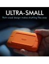 SSD extern Lacie 2TB Rugged Type-C USB3.3 Maximum speed: 950