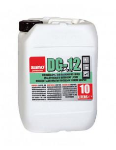 Detergent concentrat pentru vase, chiuvete, cazi, SANO DG-12 PON 10 L