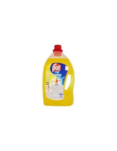 Detergent de vase - Pur Power Lemon, 4.5 L