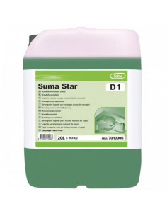 Detergent vase manual Suma Star, 20 L