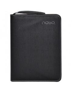 Agendă Organizer A5 Nebo 16163 Nedatată Calculator inclus, 100 File, Negru