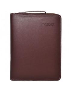 Agendă Organizer A5 Nebo 16163 Nedatată Calculator inclus, 100 File, Maro