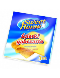 Lavete umede Sweet Home, 3 buc/set