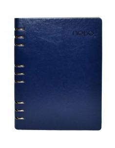 Agendă Organizer B5 Nebo 16162 Nedatată, 100 File, Albastru