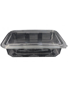 Caserola plastic, 1500 g, 100 buc/set