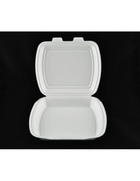 Caserola spuma cu 1 compartiment, 100 buc/set
