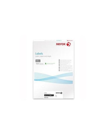 Etichete 65/A4, 38.1 x 21.2 mm, colturi rotunde, 100/top, Xerox