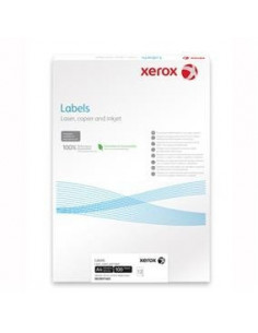Etichete 40/A4 52.5 x 29.7 mm, colturi drepte, 100/top, Xerox
