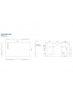 "Ecran profesional LFD Monitor Signage Philips 86"" Ultra HD 4K"