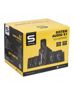 Boxe Serioux 5.1 SoundRise 51105W putere totala 105W RMS tip