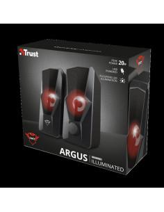 Boxe Stereo Trust GXT 610 Argus Red LED 2.0 Speaker
