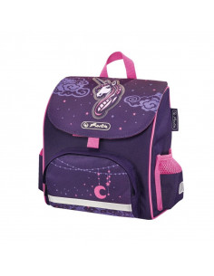 Ghiozdan Herlitz Neechipat Mini Softbag Unicorn Night