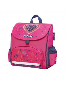 Ghiozdan Herlitz Neechipat Mini Softbag Pink Hearts