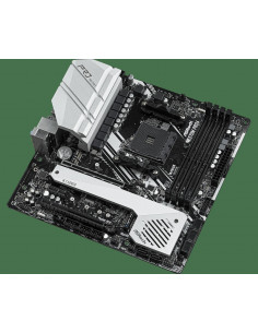 Placa de baza AsRock X570M PRO4 4 x DDR4 DIMM Slots AMDRyzen