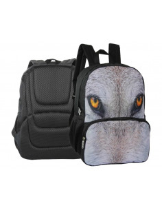 Rucsac Herlitz Cu Un Compartiment, Eyes Of The Wild Lup