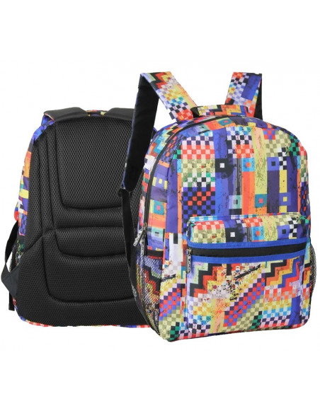 Rucsac Herlitz Cu Un Compartiment, Colorful Checkered