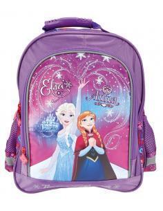 Ghiozdan scoala - Disney Frozen - Anna si Elsa