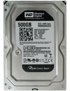 HDD intern WD 3.5 500GB BLACK SATA3 7200rpm 64MB