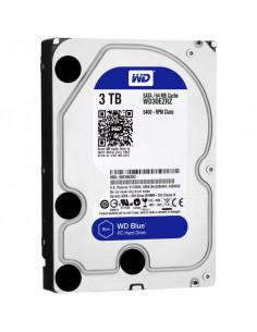 HDD intern WD 3.5 3TB BLUE SATA3 IntelliSeek (5400rpm) 64MB