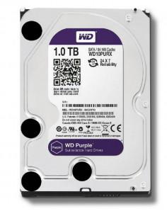 HDD intern WD 3.5 1TB PURPLE SATA3 IntelliPower (5400rpm) 64MB