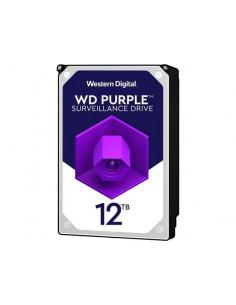 HDD intern WD Purple 3.5 12TB SATA3 7200 RPM 256MB Surveillance