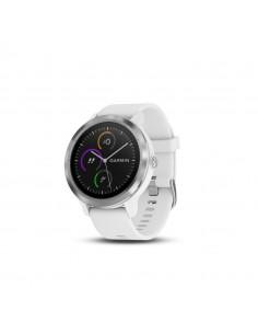 Ceas Smartwatch Garmin vivoactive 3 GPS Argintiu curea silicon