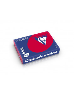 Hârtie color Clairefontaine Intens, Bordo, 500 coli/top