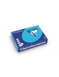 Hârtie color Clairefontaine Intens, Albastru Royal, 500 coli/top