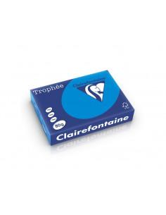Hârtie color Clairefontaine Intens, Albastru, 500 coli/top