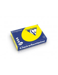Hârtie color Clairefontaine Intens, Galben, 500 coli/top