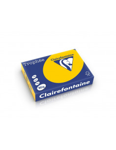 Hârtie color Clairefontaine Intens, Sunflower, 500 coli/top