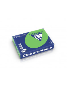 Hârtie color Clairefontaine Intens, Verde, 500 coli/top