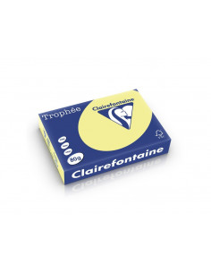 Hârtie color Clairefontaine Pastel, Daffodil, 500 coli/top