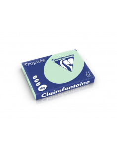 Hârtie color Clairefontaine Pastel A3, Vernil, 500 coli/top