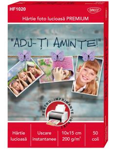 Hartie Foto Daco 10X15 Cm 200G 50 Coli