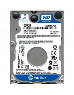 HDD intern notebook WD 2.5 500GB Blue SATA3 5400RPM 8MB 6.8mm