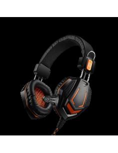 Casti Gaming cu microfon Canyon, Negru-Orange, CND-SGHS3